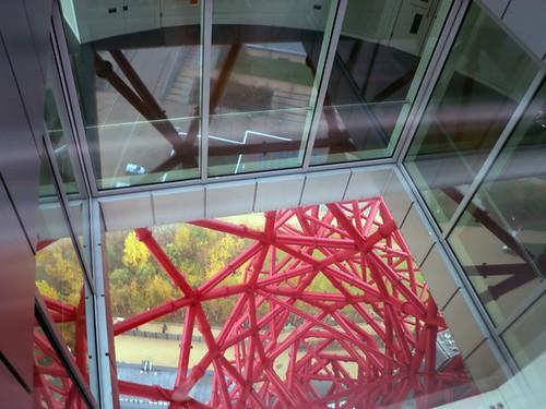 Quartiere Olimpico: panorama dall'ArcelorMittal Orbit