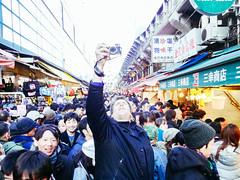 Year End Sale in Ameya Yokocho Shopping Street