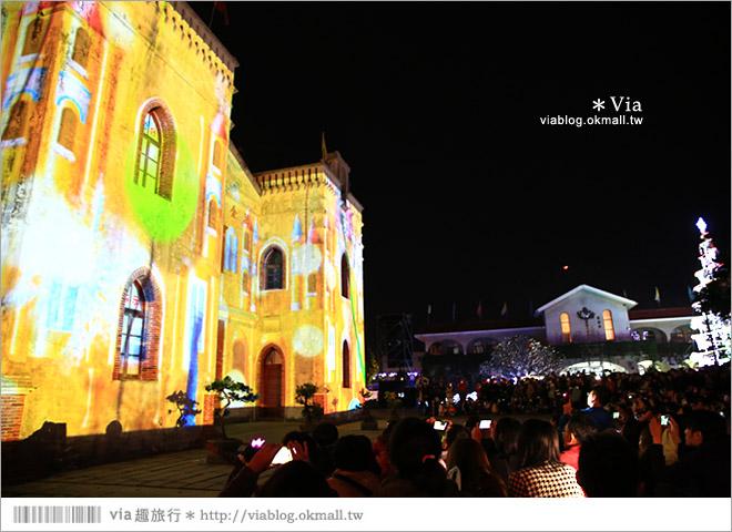 【萬金教堂】屏東萬金教堂聖誕季~3D光雕秀+耶誕地景藝術/全台最濃耶味小鎮!9