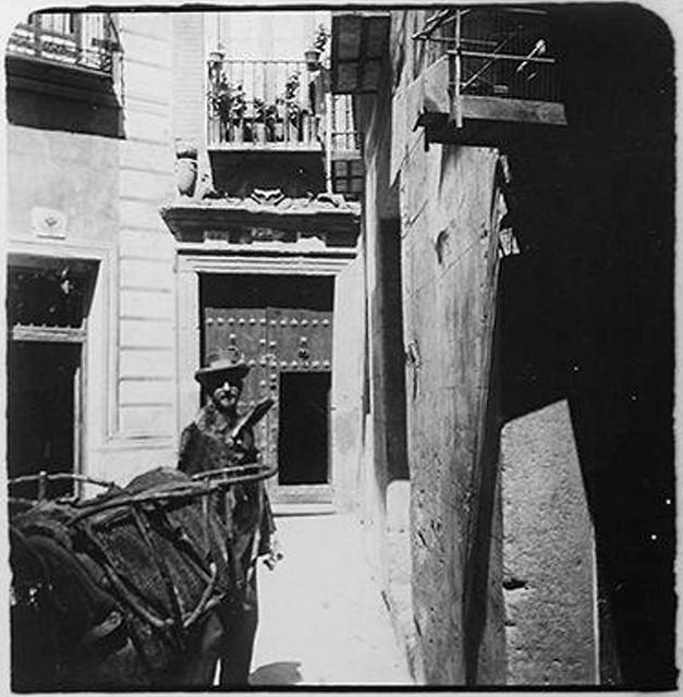 Bajade del Cristo de la Luz en 1900. Fotografía de Augusto T. Arcimis © Fototeca del IPCE, MECD. Signatura ARC-0706_P