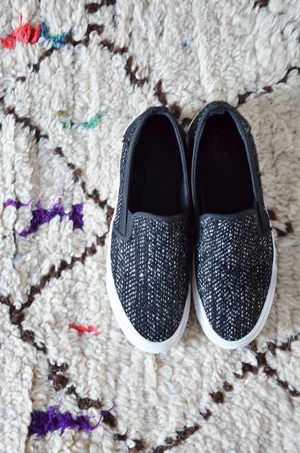 wooly shoes