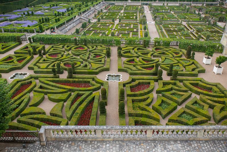 Castillo de Villandry y sus jardines