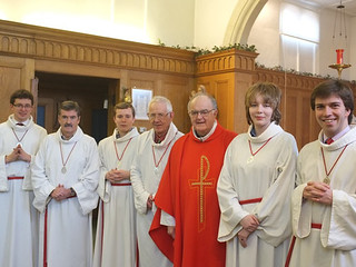 141226 - Silver St Stephen's Guild Medals - Holy Family Parish - Thanet