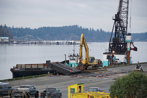 Dredging at the Marine Terminal Pier