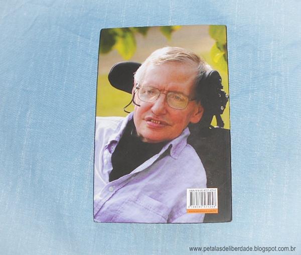 Contracapa, Stephen Hawking, Minha Breve História, livro, resenha, trechos, Intrínseca, esclerose lateral amiotrófica