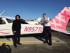Jose Jarrin Student Pilot Solo Flight