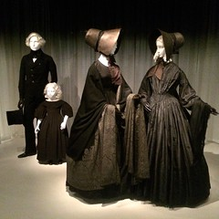 Death Becomes Her Mourning Exhibition, Metropolitam Museum, New York City, January, 2015