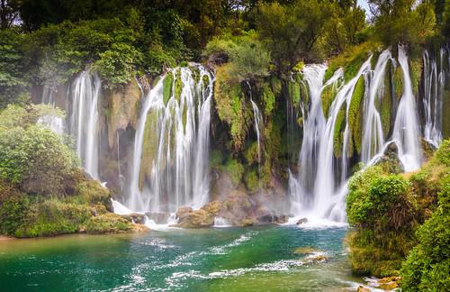summer green nature water river waterfall bosnia herzegovina balkans hercegovina bosna bosniaandherzegovina bosnaihercegovina kravice ljubuški trebižat balkanpeninsula