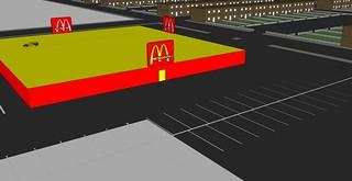 McDonalds Drive-Thru Restaurant