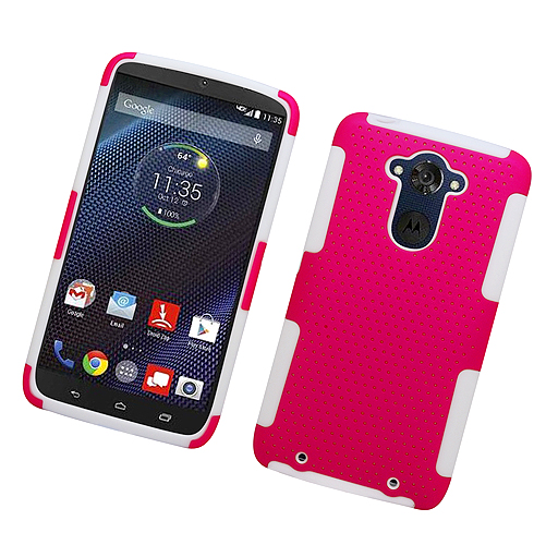 Apex Double Layer Case Hybrid Cover For Motorola Droid Turbo XT1254 Phone