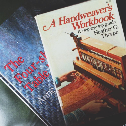 weaving books