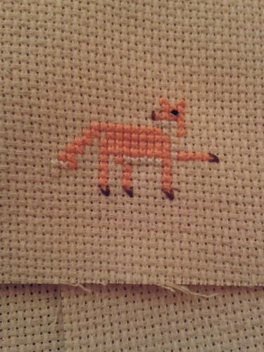 Fox Cross-Stitch