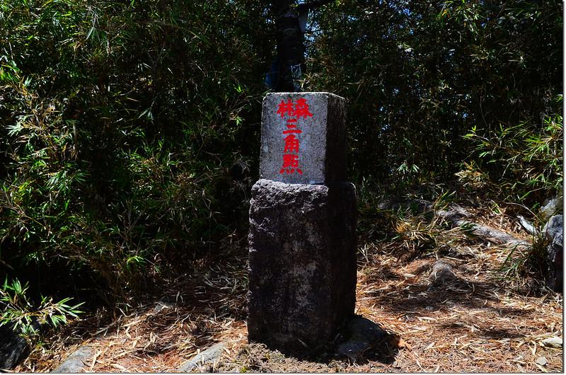 榛山山字森林三角點(# 6617 Elev. 2489 m) 1