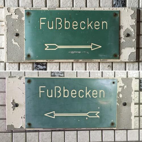 FuBbecken … ß?