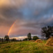 Raimbow in romanian rural area by tinu.coman