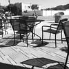 Sidewalk seating, Half Moon Bay