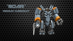 """Boar"" Medium Hardsuit"