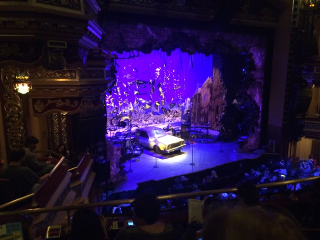 Hedwig and the Angy Inch set, Belasco Theatre