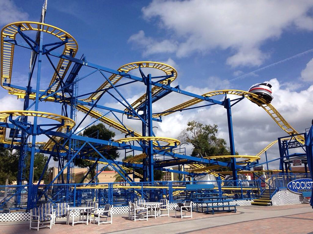 Rockstar Coaster at Fun Spot Kissimmee, FL