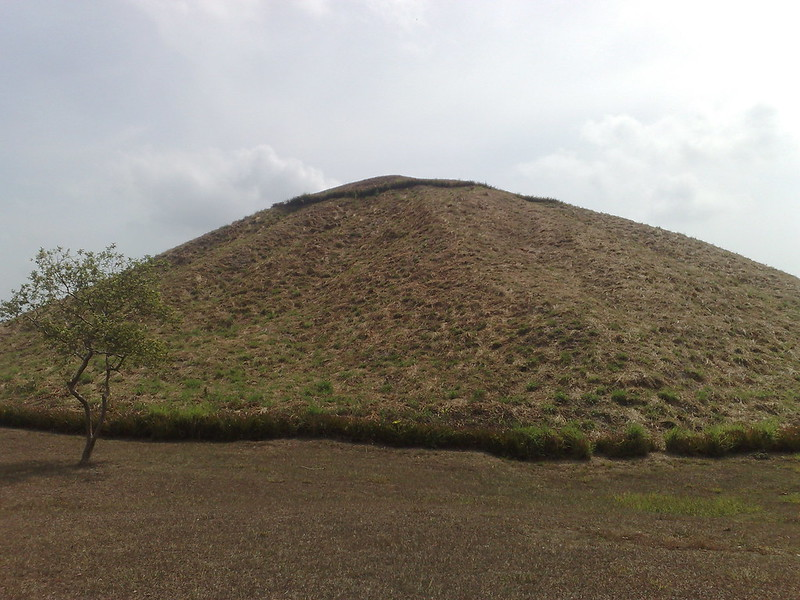 Great pyramid in La Venta, Tabasco