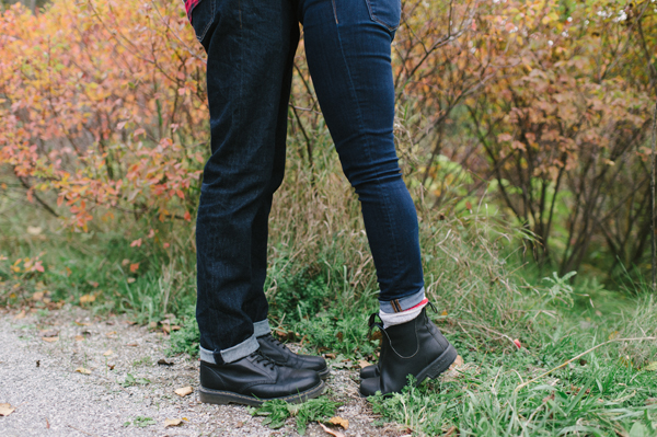 Celine Kim Photography Evergreen Brickworks Fall engagement session Toronto wedding photographer-10