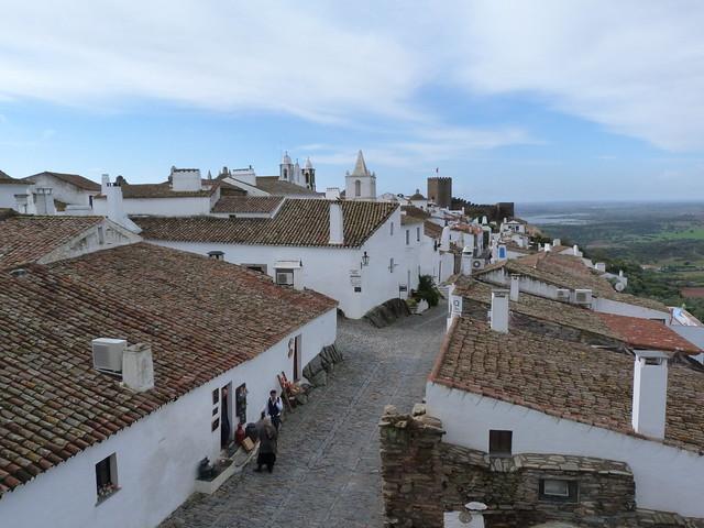 Monsaraz desde la Porta da Vila (Alentejo, Portugal)