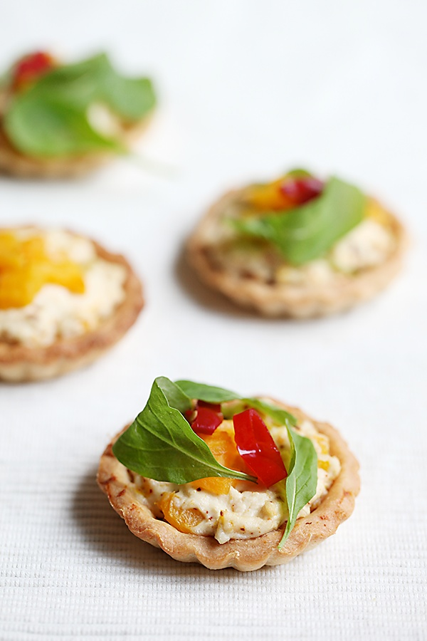 Paneer And Pumpkin Tarts