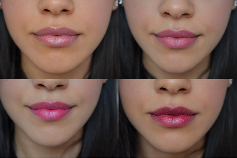 Pink and Berry Lips - Tanned Skin - Revlon Just Bitten