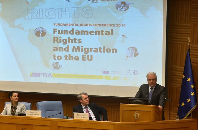Commissioner's speech at EU Fundamental Rights and Migration Conference in Rome(10/11/2014)