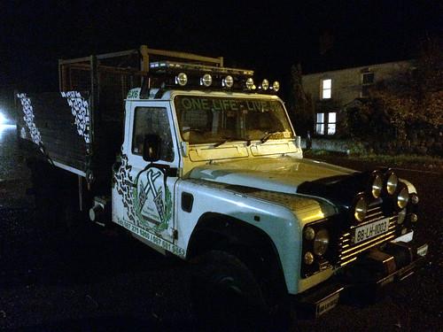 loggers truck