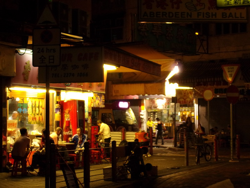 Street stalls at 5 AM