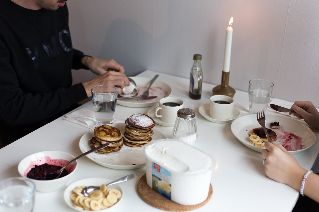 Weekend breakfast