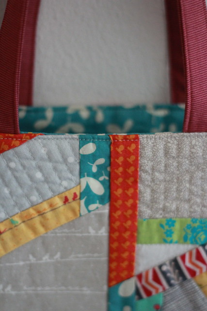 Washi Patchwork Tote