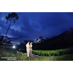 From Ratna & Prima prewedding photos. Pre wedding photoshoot in Kebun Teh Tambi Wonosobo Jawa Tengah. Prewedding photo by @Poetrafoto.    Visit our gallery on http://prewedding.poetrafoto.com or our FB page http://fb.com/poetrafoto for more bigger prewedd