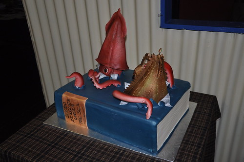 Cake from Twenty Thousand Leagues Under the Sea