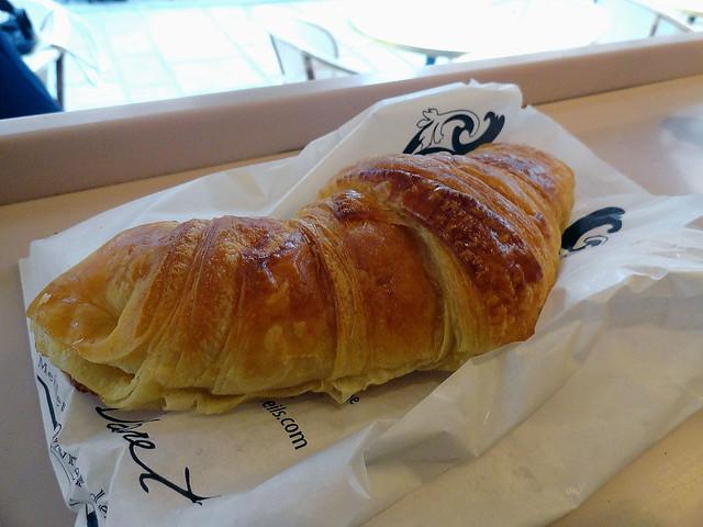 First Parisian croissant