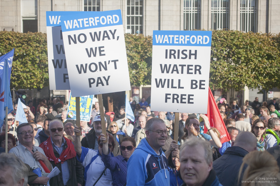 Dublin Water Protest