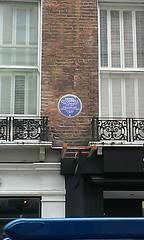 Photo of Daniel O'Connell blue plaque