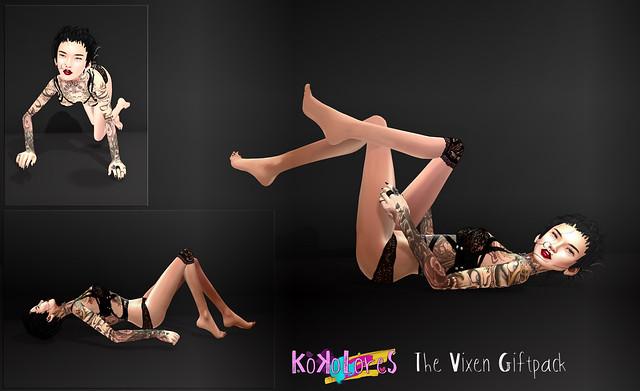 KoKoLoReS: The Vixen Giftpack