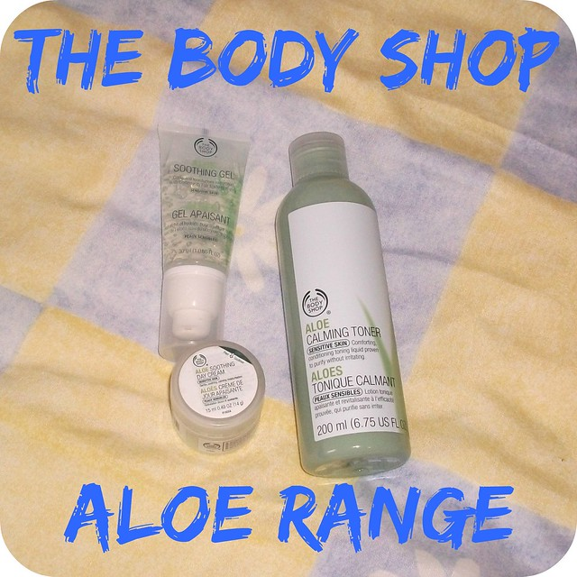 The Body Shop Aloe Range