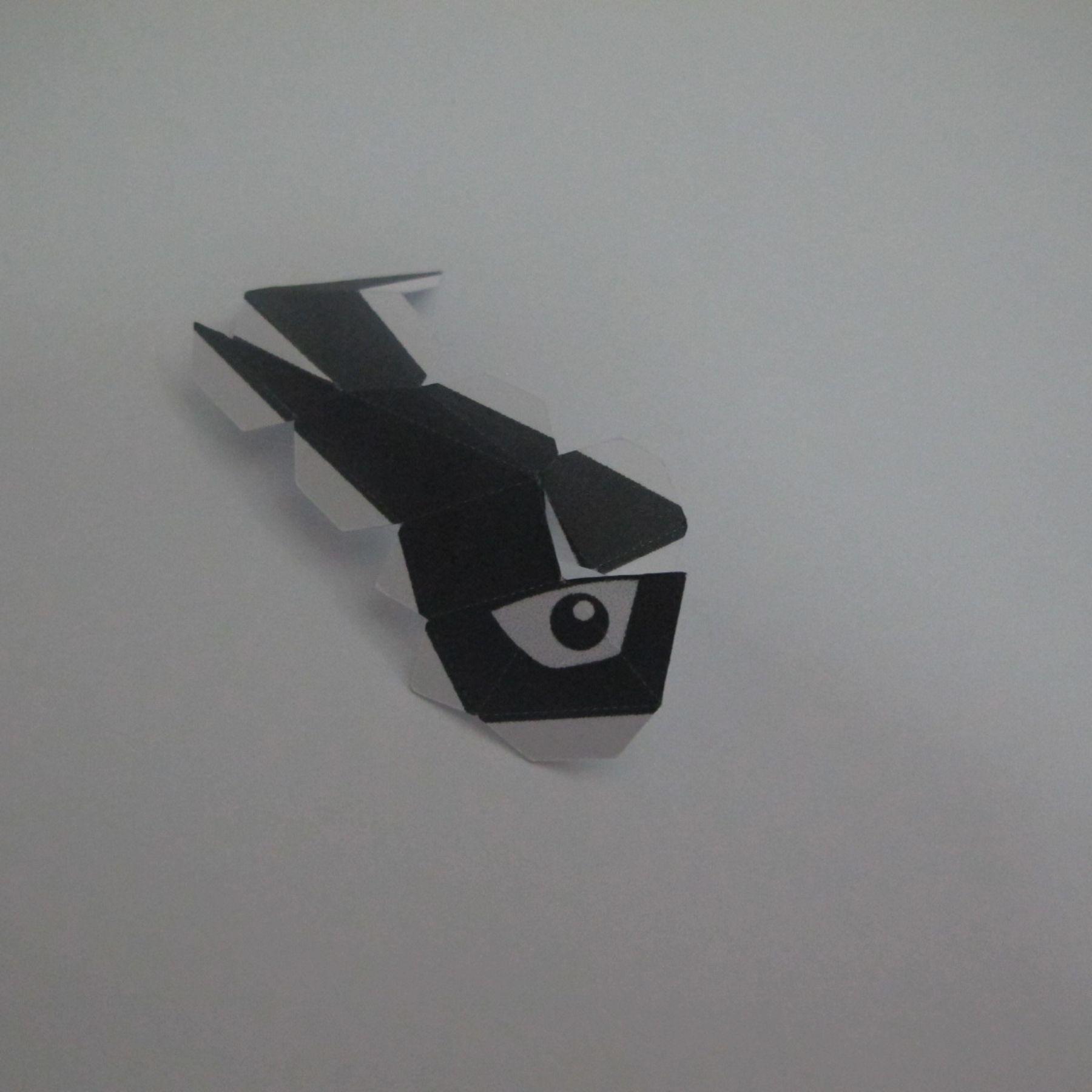 วิธีทำของเล่นโมเดลกระดาษ วูฟเวอรีน (Chibi Wolverine Papercraft Model) 001