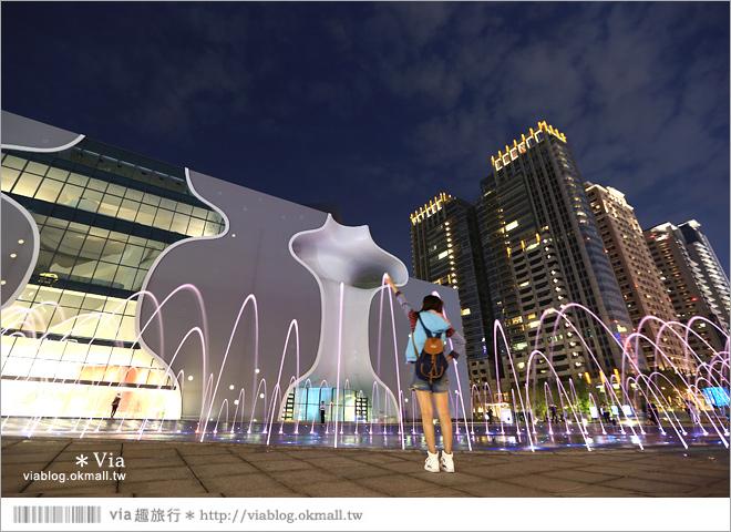 【大都會歌劇院】台中國家歌劇院~夜間水舞篇。光舞紀/光影藝術節25