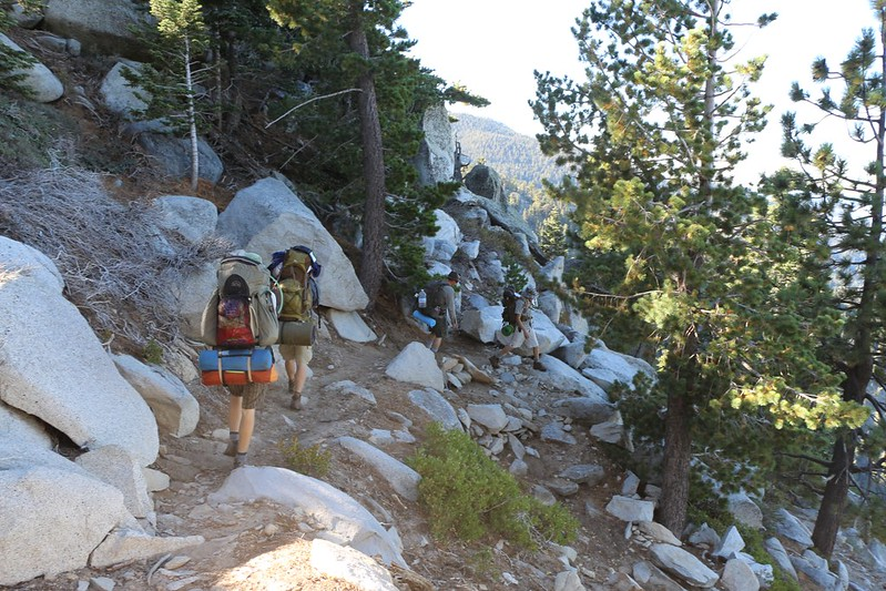 Hiking on the Fuller Ridge Trail