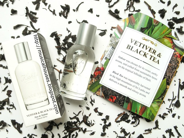 Kiehls Vetiver and Black Tea Perfume