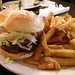 Stein Burger and Koop - the burger and fries