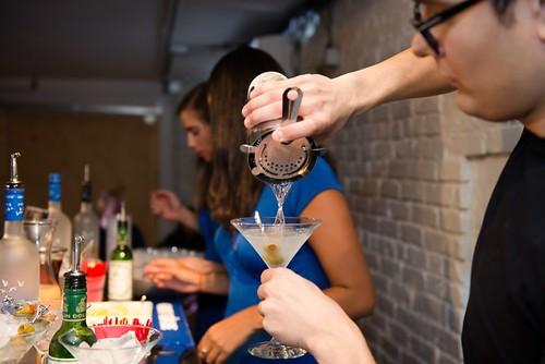 Grey Goose Martini Pour