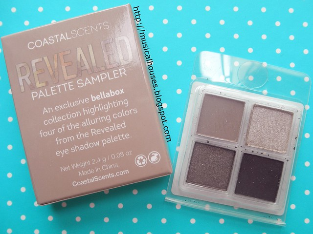 Bellabox November Coastal Scents Revealed Eyeshadow Palette Sampler