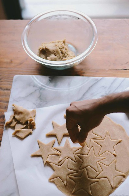 buckwheat and oat flour christmas cutout cookies | A Brown Table