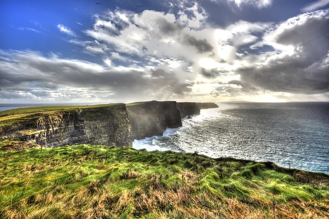 HDR Ireland Cliffs of Moher