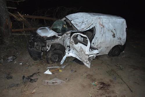 Двоє загинуло, один травмований внаслідок ДТП поблизу села Сварицевичі Дубровицького району